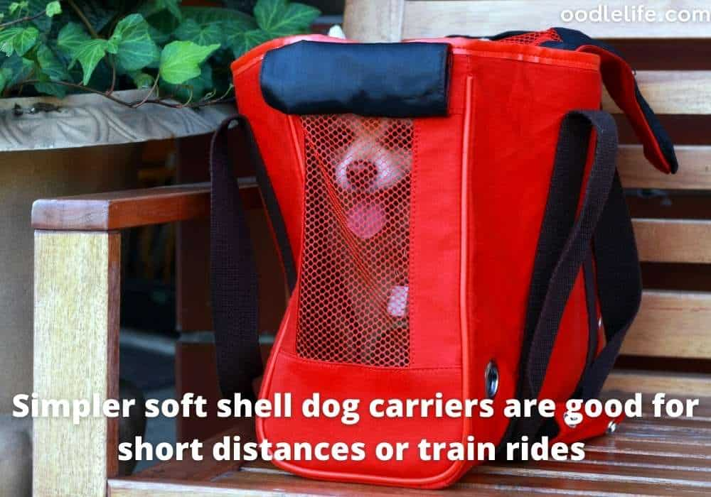 soft shell dog carrier backpack
